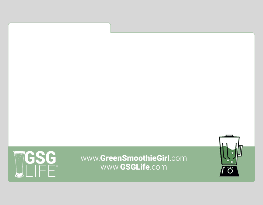 green-smoothie-girl-image-template