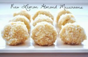 raw lemon almond macaroon pict.
