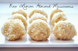 raw lemon almond macaroon pict.