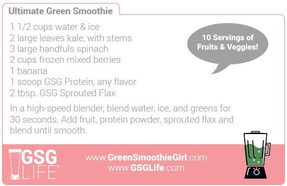 Day 1: Ultimate Green Smoothie