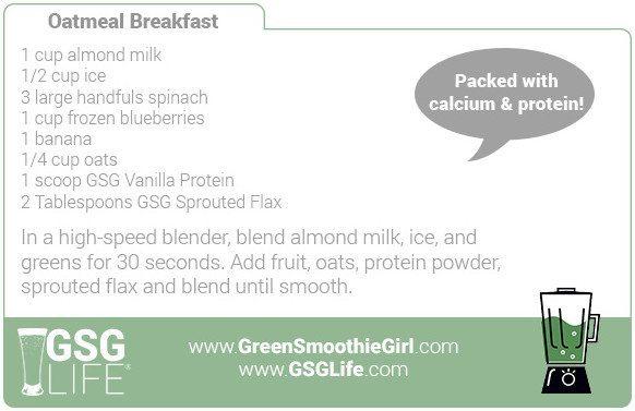 Day 1: Oatmeal Breakfast
