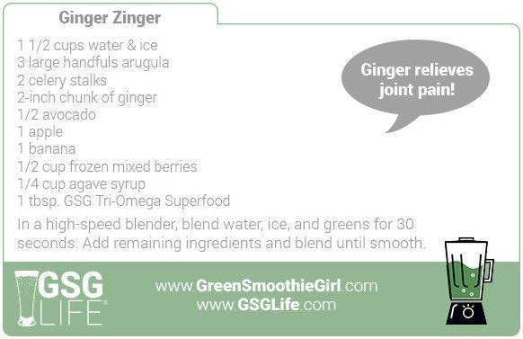Day 5: Ginger Zinger