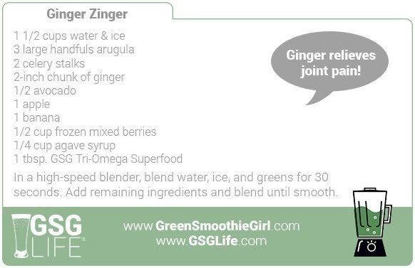 Day 5: Ginger Zinger