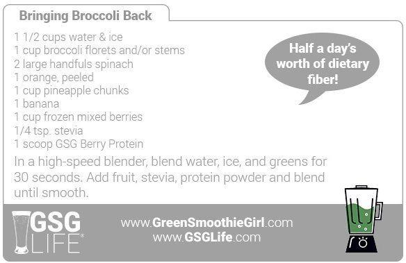 Day 1: Bringing Broccoli Back