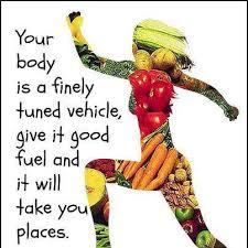 food is fuel qote