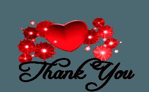 heart thankyou
