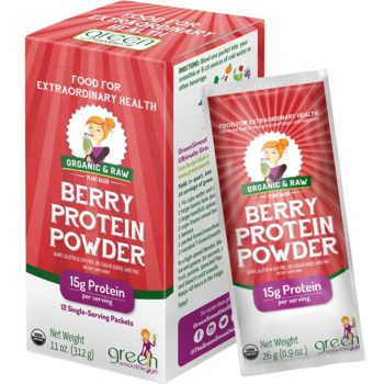 GSG Berry Protein Singles