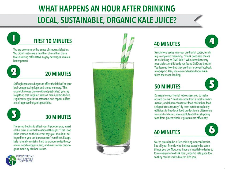 non-conformist kale juice