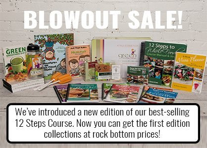 Blowout Sale! We've introduced a new edition of our best-selling 12 Steps Course. Now you can get the firs edition collections at rock bottom prices!