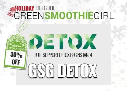 30% off GSG Detox. Full-Support begins in January. GSG Holiday Gift Guide.