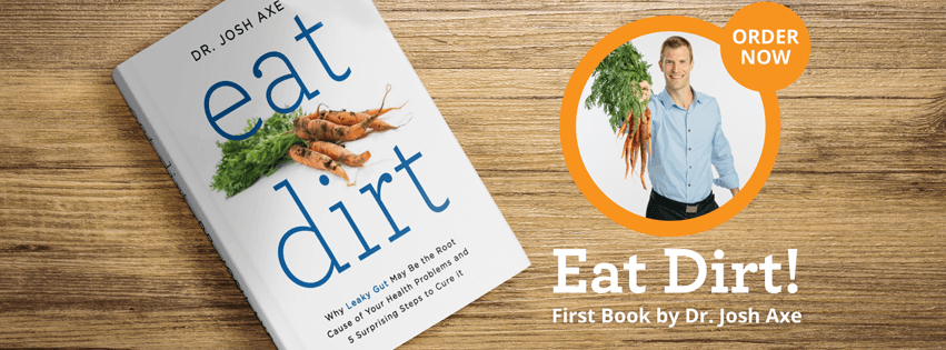 Get your copy of Eat Dirt and heal Leaky Gut!