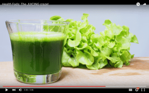 Health fads: The JUICING Craze!
