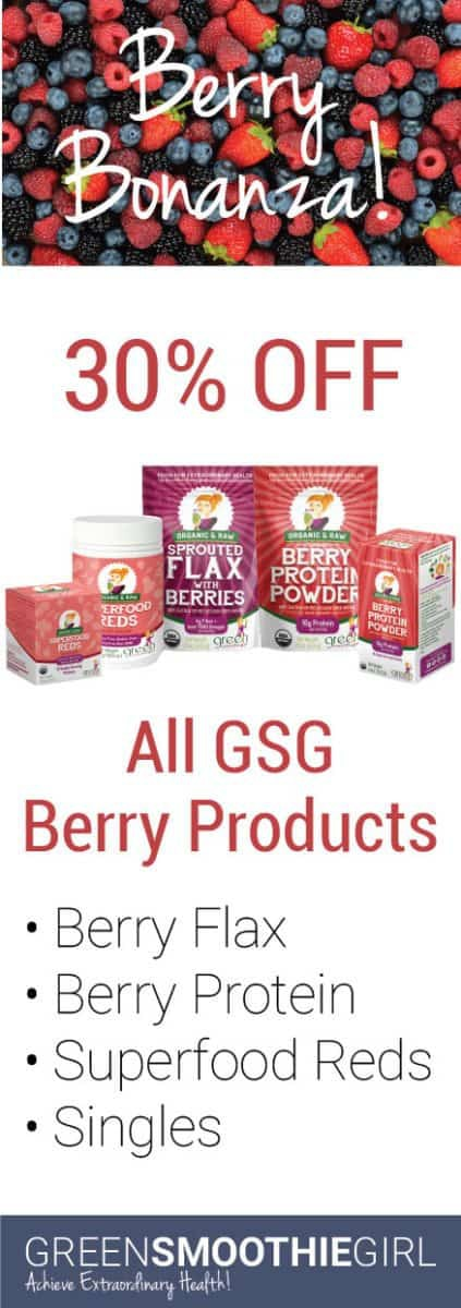 Berry Bonanza! 30% off all GSG Berry Products