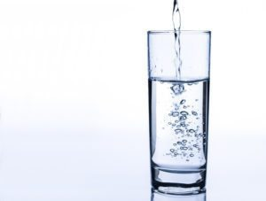 glass of clean water