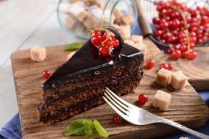 chocolate cake with swaps to make it a healthy treat recipe