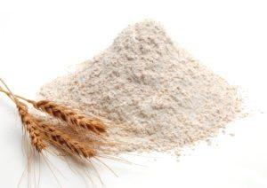 Finely ground soft white wheat flour