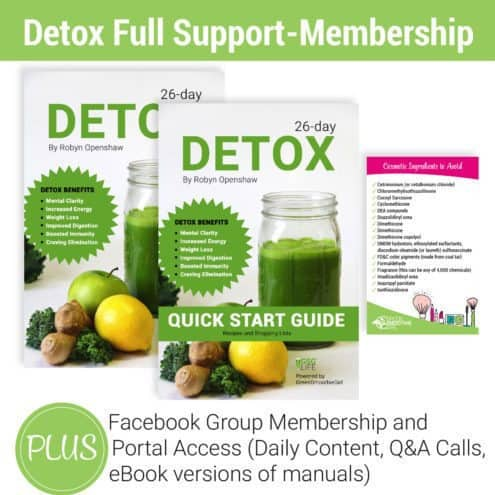 Detox Full Support Membership