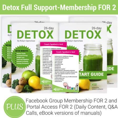 Detox Full Support Membership for 2
