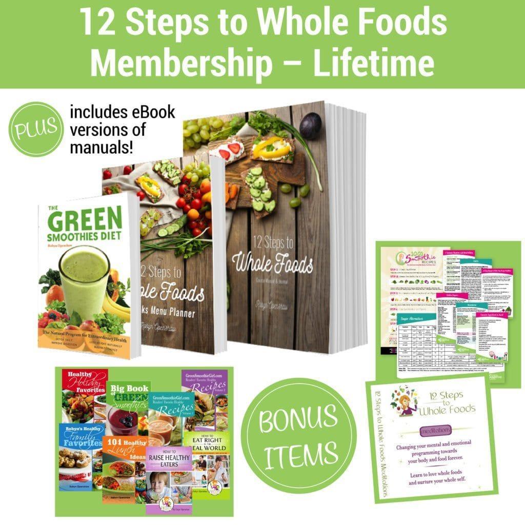 12 Steps to Whole Foods Membership - Lifetime plus bonuses-01