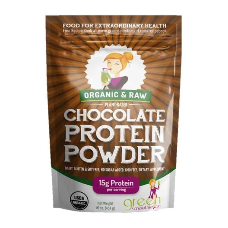 """Photo of GreenSmoothieGirl Chocolate Protein Powder from """"Power Green Smoothie"""" recipe by Green Smoothie Girl"""