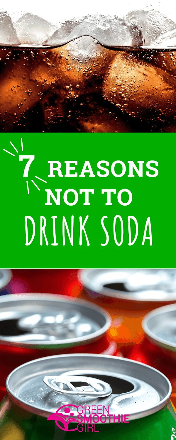 don't drink soda banner