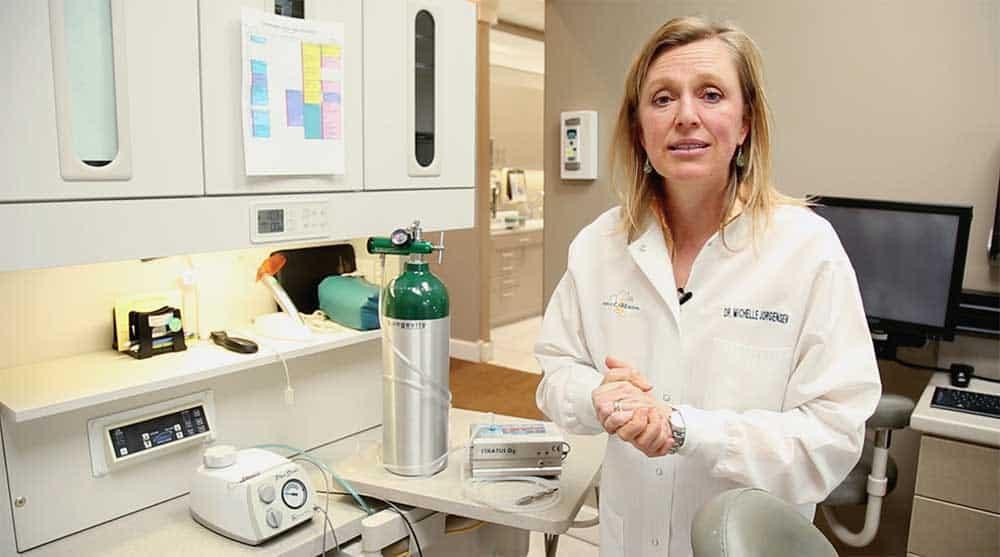 michelle-talking-dentist