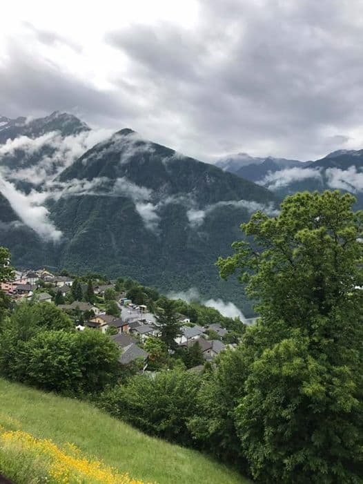 Beautiful Mountain Views at Paracelsus Clinic al Ronc.