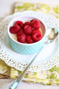 Russian Cream and Berries
