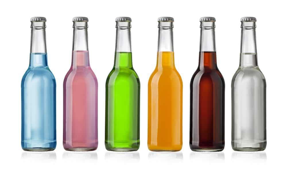 Assorted soft drinks--soda dissolves teeth!