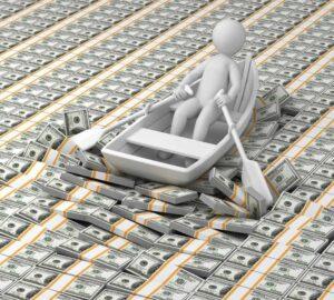 river of money concept