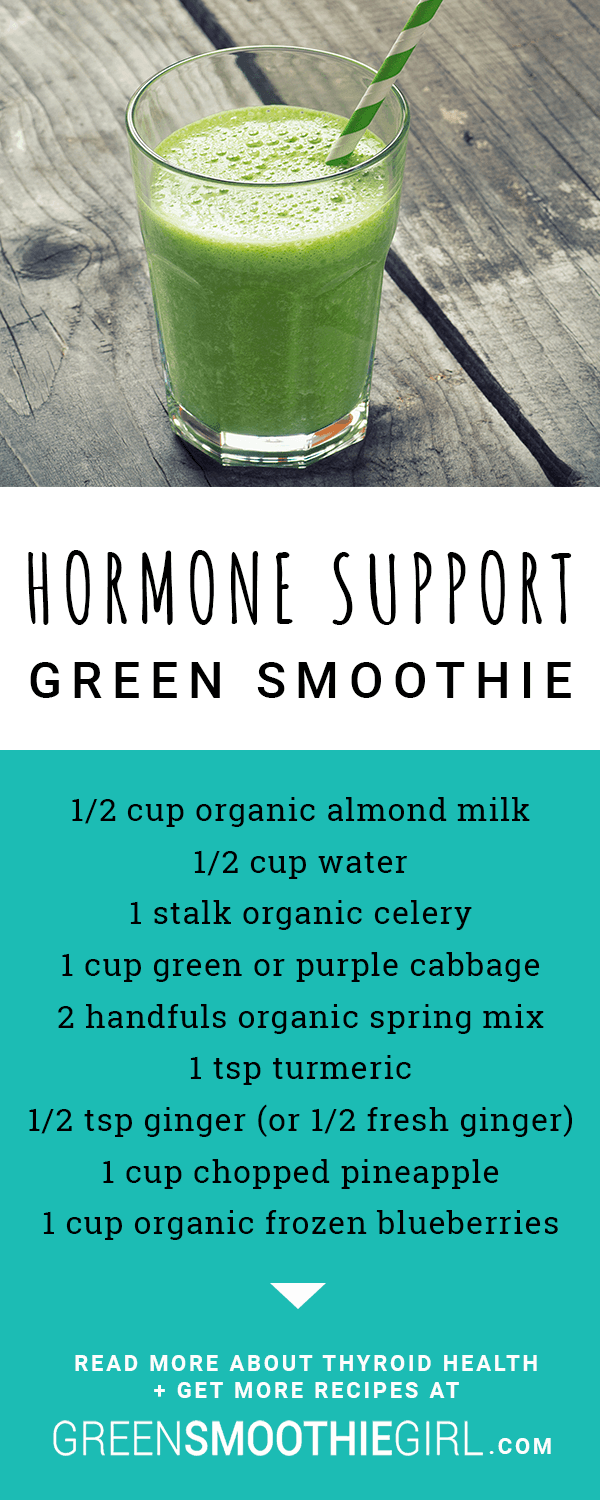 Hormone Support Green Smoothie