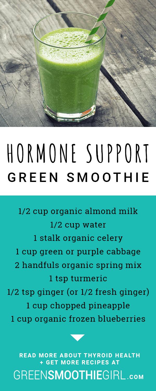 Hormone Support Green Smoothie