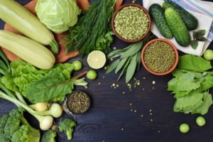 Legumes and Leafy Greens, that are eliminated in the Autoimmune Protocol diet