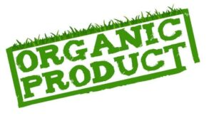 "Illustration of text: ""Organic Product."" Blog post: What does ORGANIC mean?"