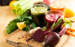 Various Freshly Squeezed Vegetable Juices for Fasting. Blog: Detoxifying Drinks Review: What Works? What Doesn't?