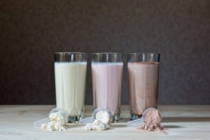 Assorted flavors of protein shakes. Blog: Detoxifying Drinks Review: What Works? What Doesn't?