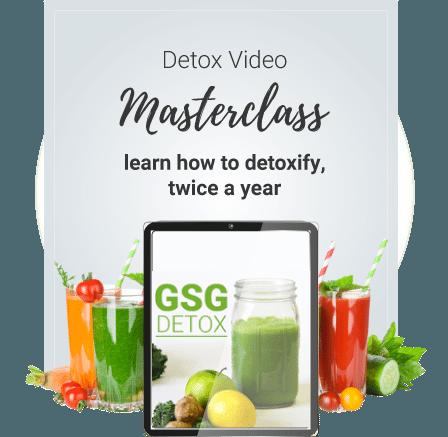 Detox Masterclass