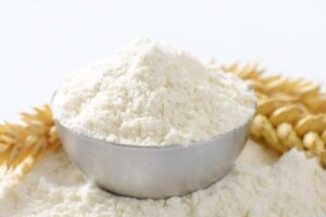 Finely ground soft white wheat flour