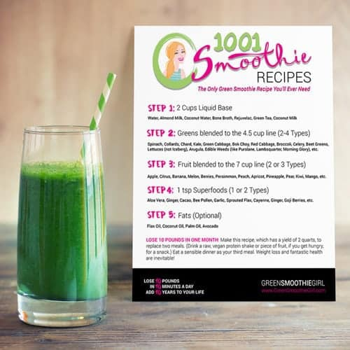 green-smoothie-next-to-flyer