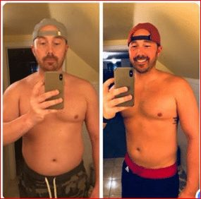 Josh Willet - Before & After the 26-Day Detox