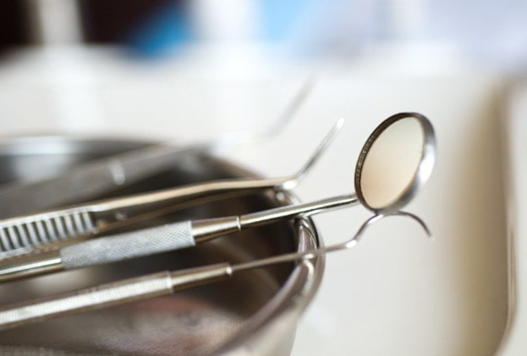 "Photo of dentist tools from ""Are Amalgam Fillings Safe? A Biological Dentist Weighs In"" by Green Smoothie Girl"
