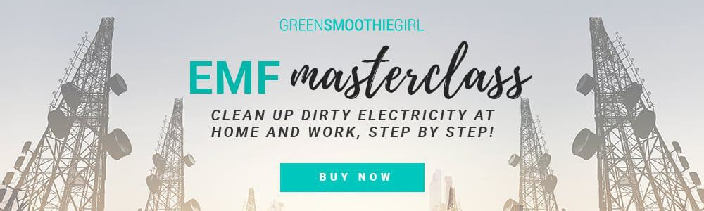 EMF Masterclass: Clean Up Dirty Electricity at Home and Work, Step by Step -- Green Smoothie Girl