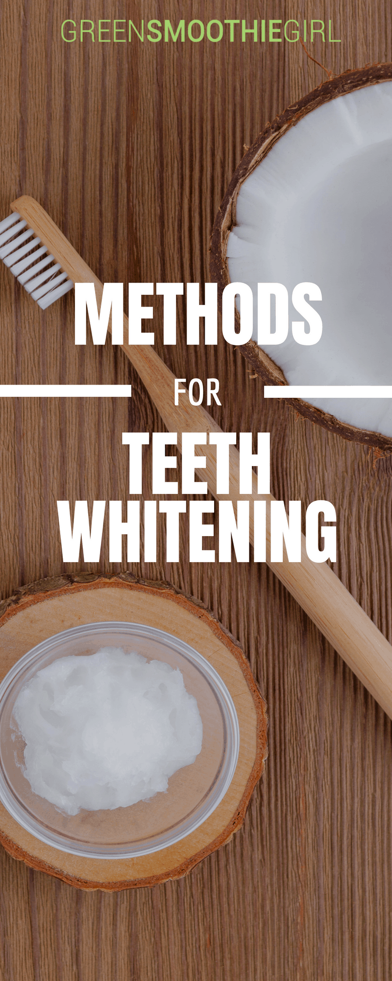 Methods for Natural Teeth Whitening | Green Smoothie Girl