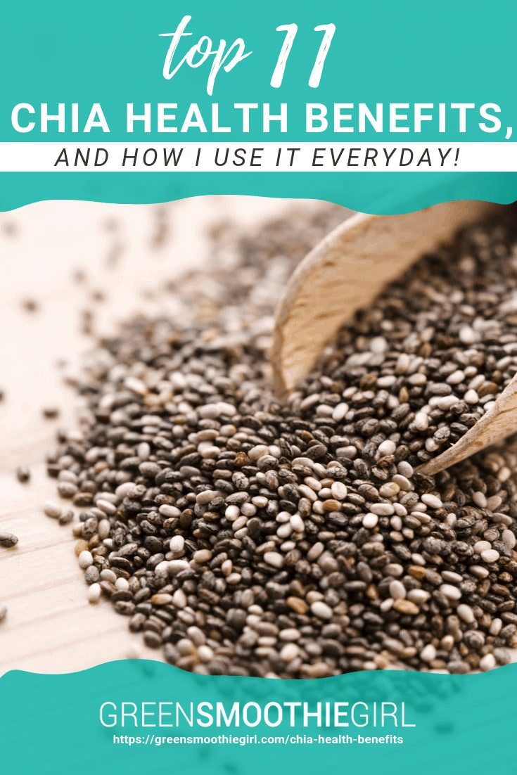 Top 11 Chia Health Benefits, And How I Use It Every Day