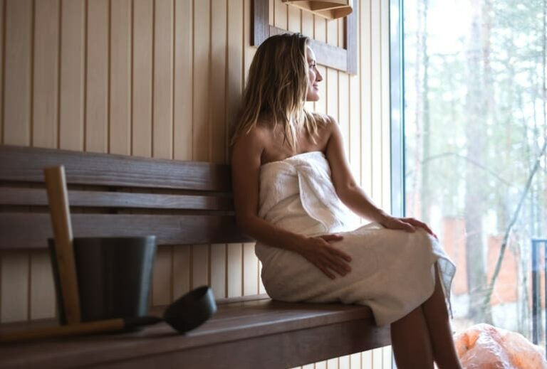 """Can a Sauna Help You Live Longer?"" at Green Smoothie Girl"