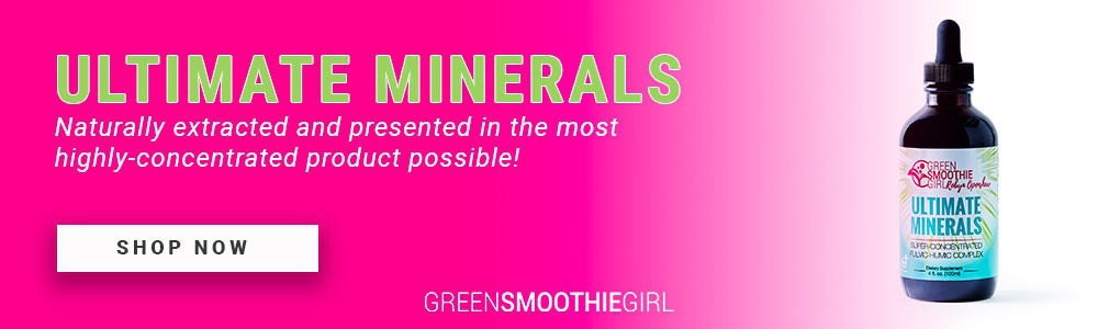 Ad for ultimate minerals