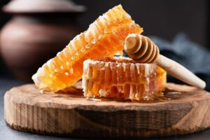 "Photo of raw honey, from ""The Benefits of Raw Honey:Why You Should Find A Local Source"" at Green Smoothie Girl."