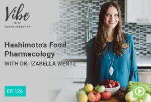 Dr Izabella Wentz in a kitchen