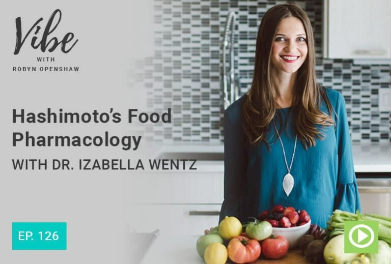 Dr Izabella Wentz in a kitchen