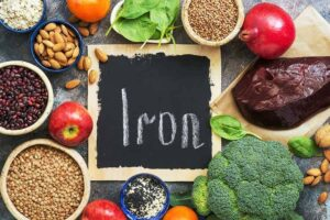 "Photo of iron from ""Why Does Everyone Have Thinning Hair?"" at Green Smoothie Girl."